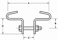Figure 15 - Beam Clamps