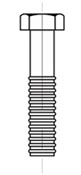 Figure 162 - Hex Head Bolt